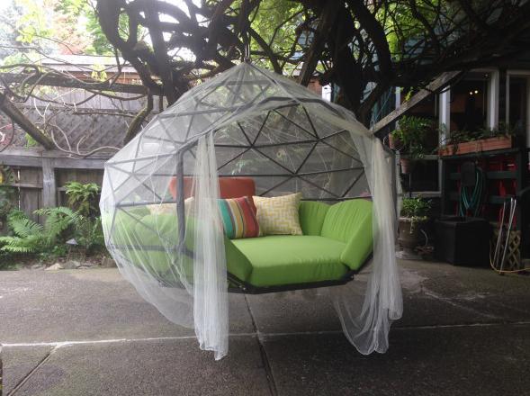 【新品上市:夏天的新宠:圆顶刚架构吊床设计】-选