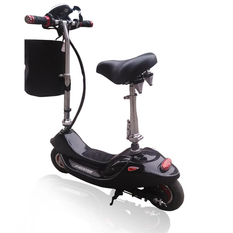 驭圣迷你电动车 小海豚电动滑板车 女士 小型电动车 代步电动自行车