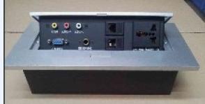 2015特卖多功能桌面插座 会议桌面接线盒 信息盒