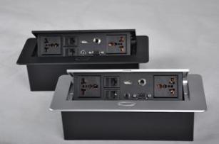 供应厂家直销多媒体信息盒 桌面插座