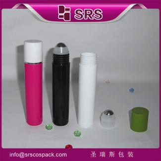 热销化妆品瓶35ml滚珠瓶眼部精华走珠瓶PP香水塑料分装瓶可印刷