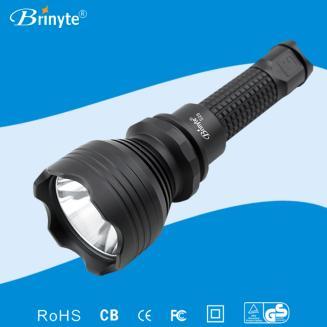 爆款 强光LED手电筒 BrinyteS28短筒CREE U2白光户外必备电筒