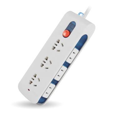 购旺(gowone)D3 9位1.8米总控开关插座/插排厂家直销