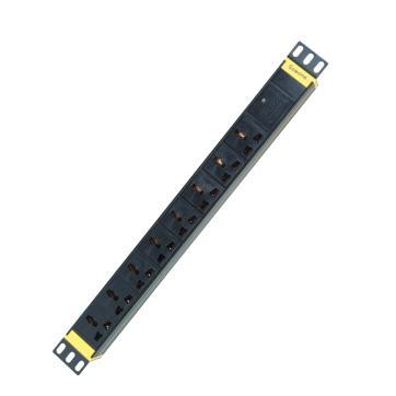 购旺(Gowone)8位2米工业防雷滤波PDU机柜插座W3