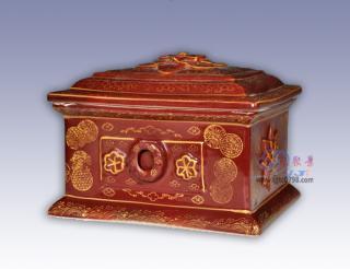 陶瓷骨灰盒殡仪馆专用