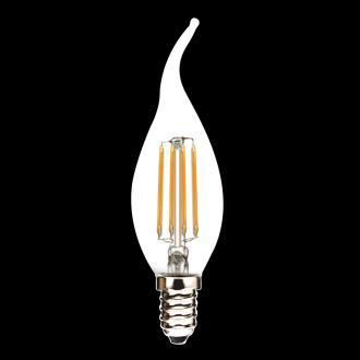 海宁新光源LED灯丝球泡灯蜡烛灯灯泡C35T 4W