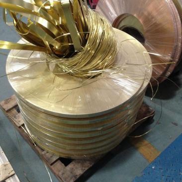 H65软料黄铜带 0.6*400mm超宽软料黄铜带