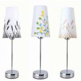 喂奶简约时尚创意绿叶金麦黑麦LED智能遥控调光装饰台灯卧室床头