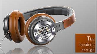 耳机产品、真空管耳机设计、头戴式蓝牙耳机 路科创意设计公司