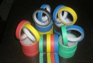 深圳厂家生产耐温彩色美纹纸胶带