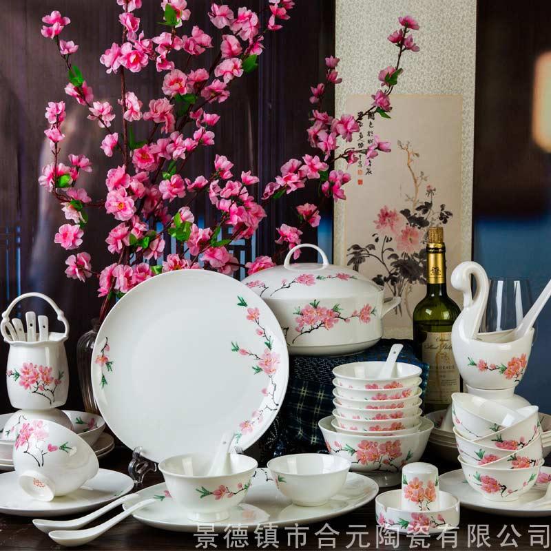 景德镇高档手绘陶瓷餐具