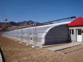 博园温室  温室工程专家  日光温室