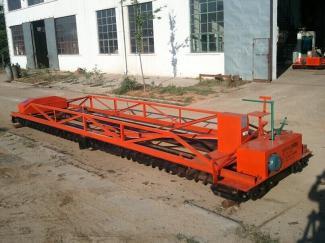 8米混凝土三滚轴摊铺机 三滚轴摊铺振动梁