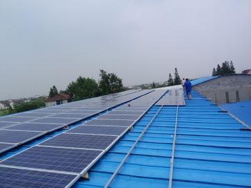 郑州 彩钢瓦屋顶光伏电站/家庭小型太阳能发电系统/用电免费,享补贴