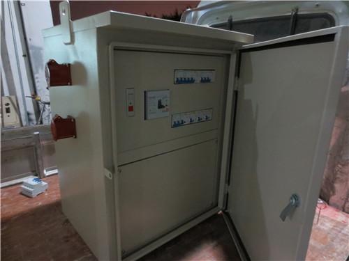 低压成套二级配电箱 塔吊照明控制箱 户外防雨工地箱