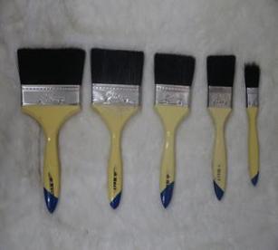 供应厂家直销817柄黑毛油漆刷 可定制代加工 天铖制刷