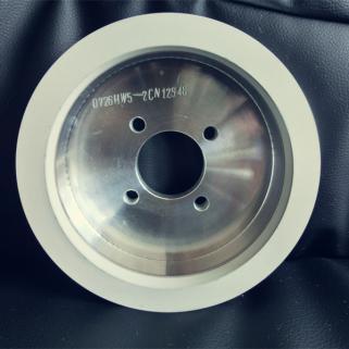 6A2陶瓷结合剂金刚石刀磨砂轮加工PCD刀具