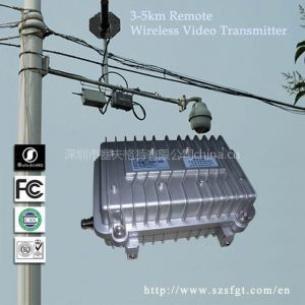 无线远程云台发射机,大功率数据传输