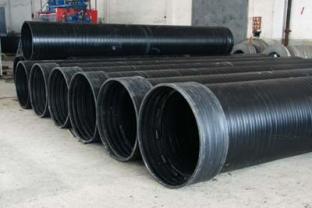 HDPE钢塑复合双平壁缠绕管