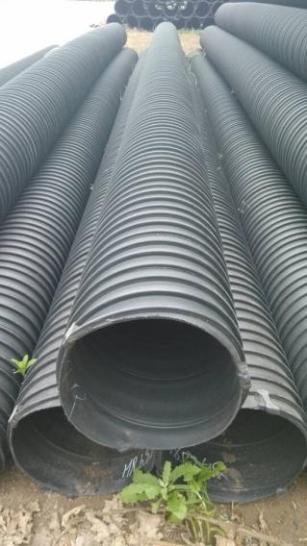 HDPE塑钢缠绕管