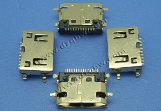 HYC06-HDMIC19-325上HDMI C TYPE 全贴片