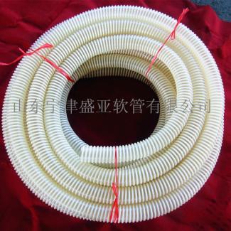 PU耐磨塑筋软管,TPU螺旋塑筋增强软管,耐磨塑筋输送软管