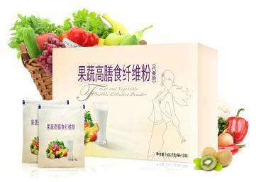 专业提供果蔬纤维代餐粉加工|果蔬纤维代餐奶昔OEM代工厂家