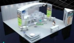 美国拉斯维加斯展会摊位搭建和设计