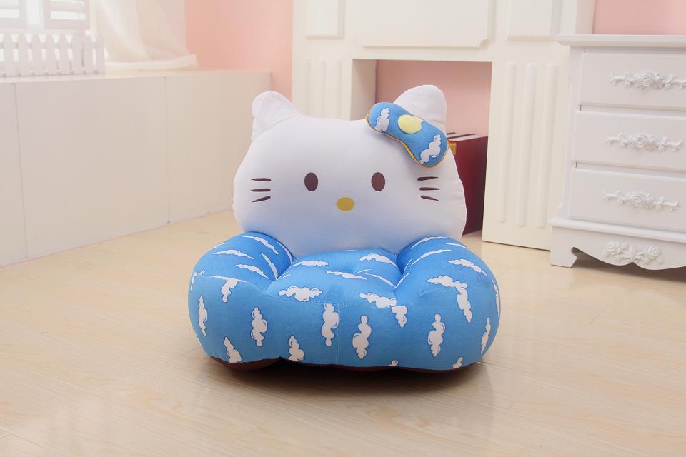 卡通可爱卧室懒人儿童沙发多啦爱梦叮当猫时尚批发地板椅