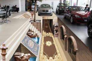 3D立体壁画、地画专业设计制作 3D画展馆策划