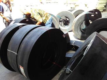加厚耐磨光面压路机轮胎700-16可配内胎钢圈