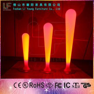 LED发光家具 LED炫彩滚塑发光酒吧灯饰  创意七彩可遥控灯饰