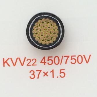 广东兴业电缆KVV22-450/750V-37X1.5