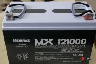 友联蓄电池MX12040 12V40AH