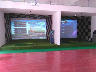 2015款器韩国进口高尔夫模拟器高速摄像高清版