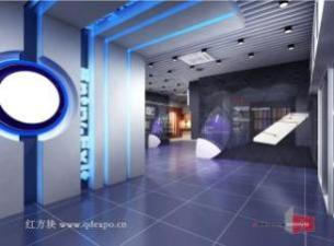 企业展厅设计效果图|企业文化建设高端工程