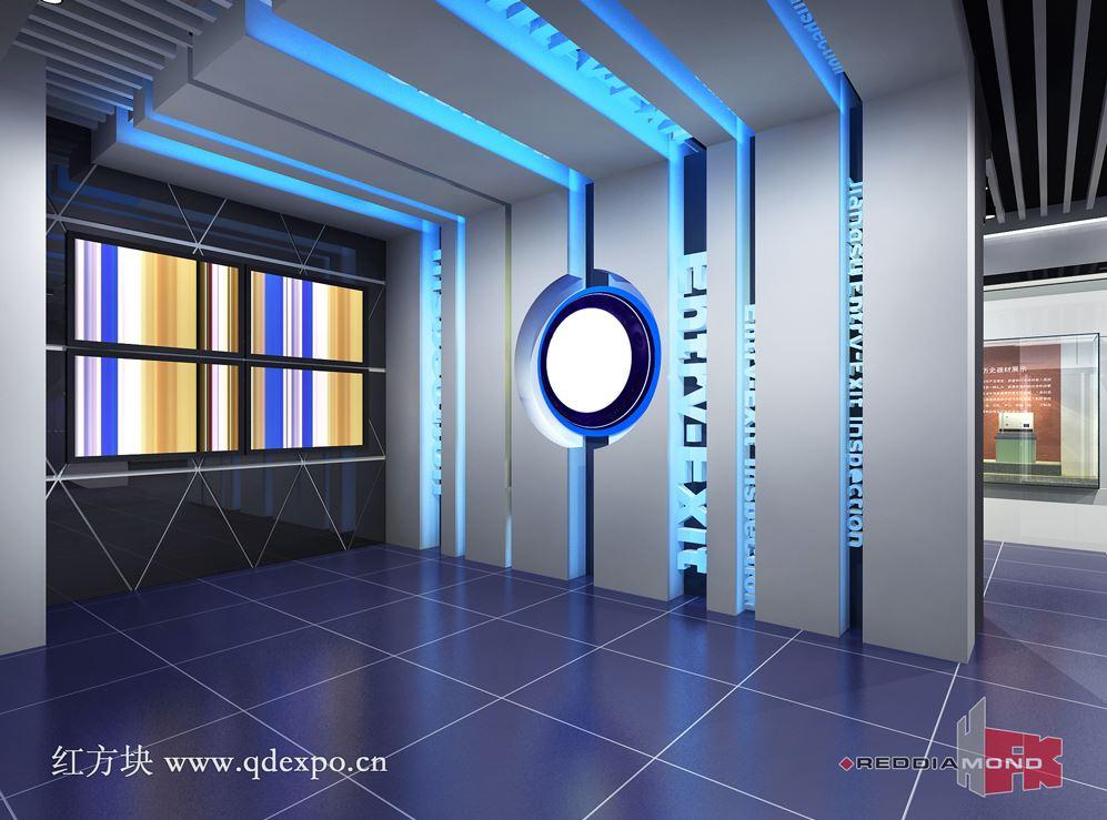 产品橱窗 商务服务 展览服务 展览设计制作 > 企业展厅设计效果图