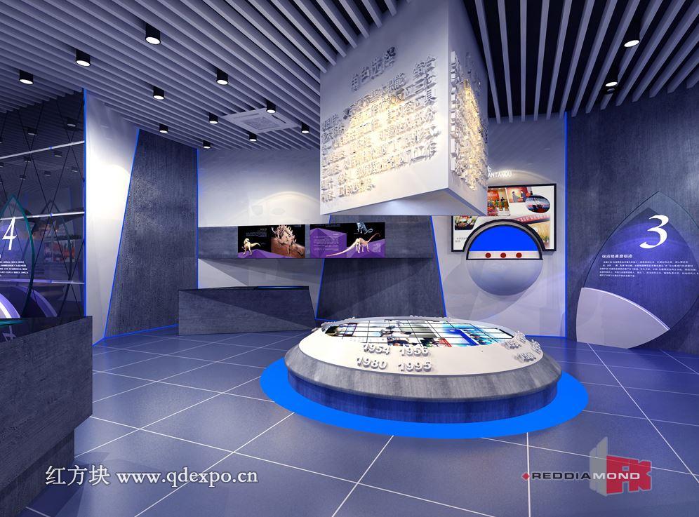 企业展厅设计效果图 企业文化建设高端工程