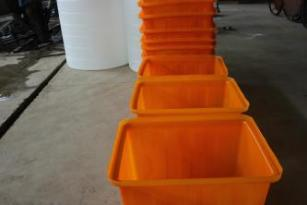 【赛普塑业】方滚塑水箱 纺织方箱 印染周转箱