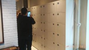 知音堂订购我公司指纹型自动储物柜