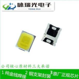 深圳LED 2835 0.2W双芯白光贴片灯珠