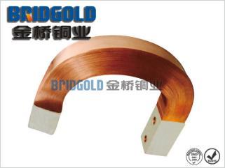 铜软连接厂家供应大电流铜箔软连接 U形铜箔软连接 耐弯曲易散热