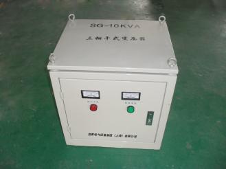 上海哲景供应 SG/SBK-10KVA 三相干式隔离变压器