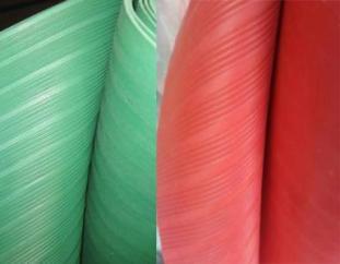 内蒙硅胶板呼和浩特夹布橡胶板包头防静电绝缘橡胶板