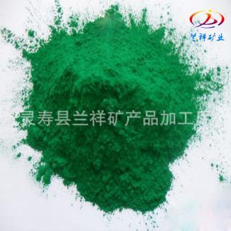 厂家低价供应 高纯度国标氧化铁绿 氧化铬绿 建筑彩色水泥用