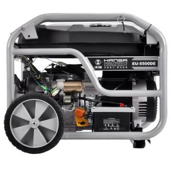 家用型5000瓦汽油发电机