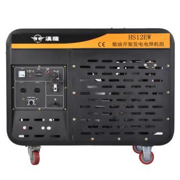 手推式300A发电电焊机