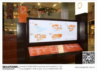 市综合体导示系统设计、城市综合体标识系统设计、城市综合体导示设计