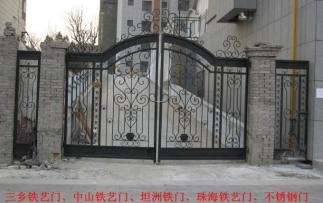 深圳铁艺门生产厂家