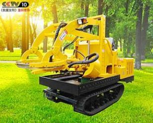 三普3WSL-1.6型挖树机农用园林机械厂家直销